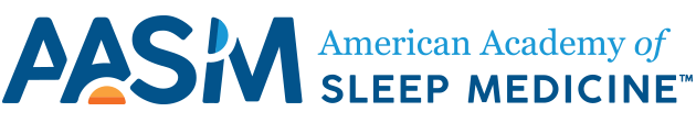 American Academy of Sleep Medicine – Association for Sleep Clinicians and Researchers Sticky Logo Retina