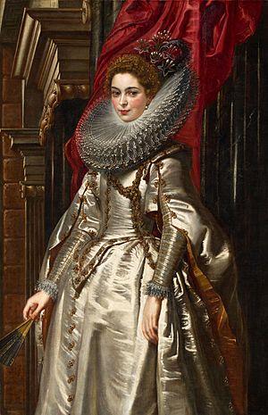 Portrait of Marchesa Brigida Spinola-Doria